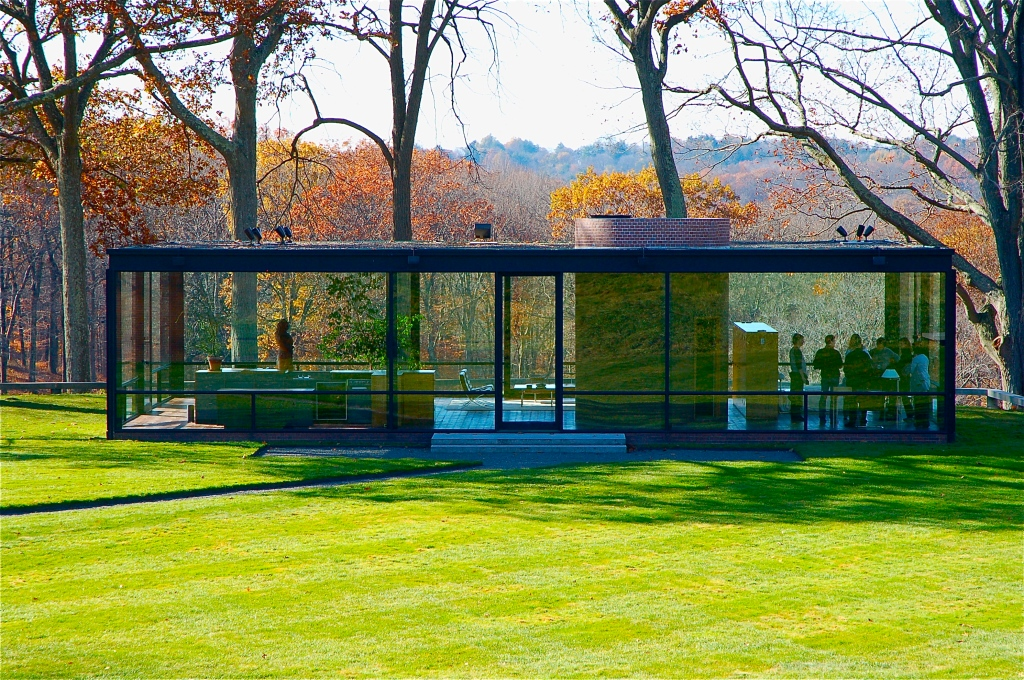 Glass House_Philip Johnson