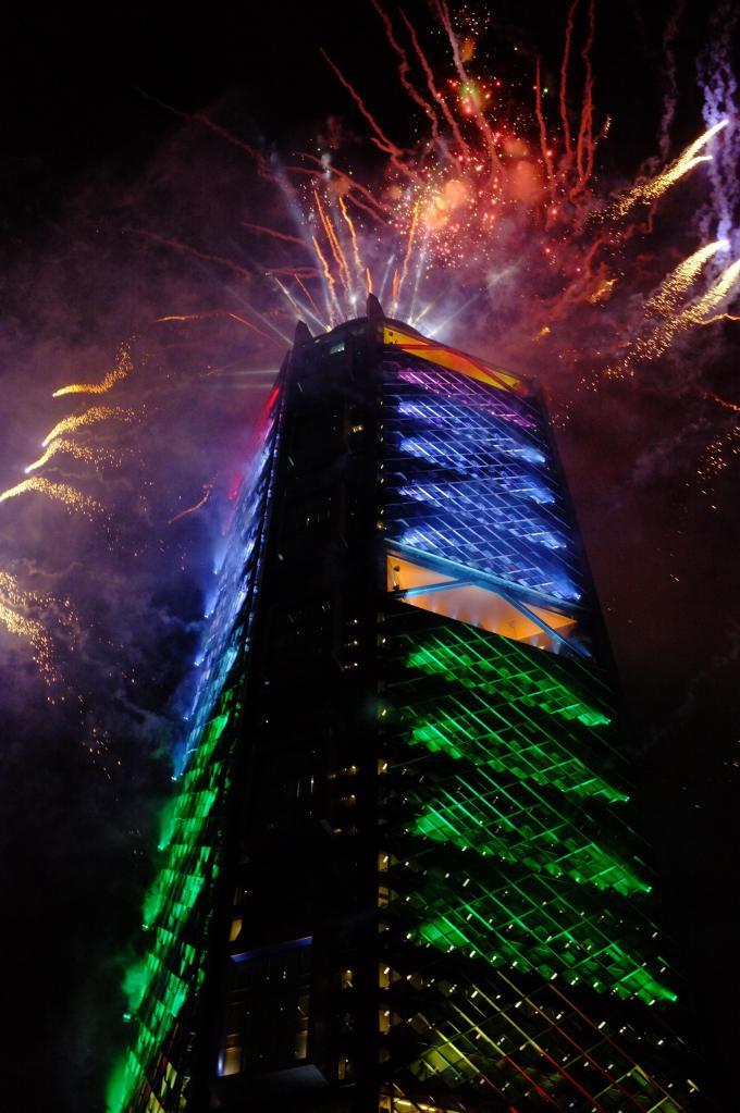 Inauguración Torre Bancomer