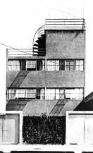 Juan O'Gorman, Casa y estudio para Frances Toor, México 1932