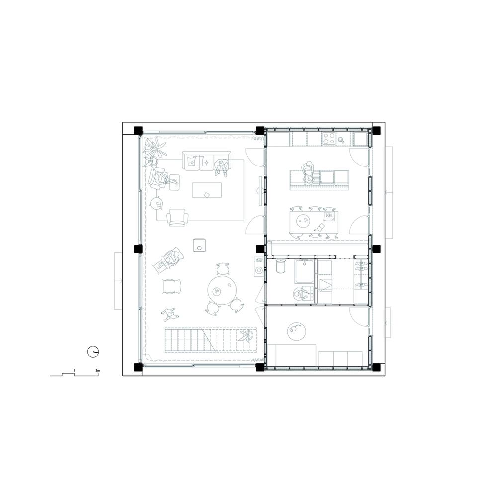 casa 1217 planta