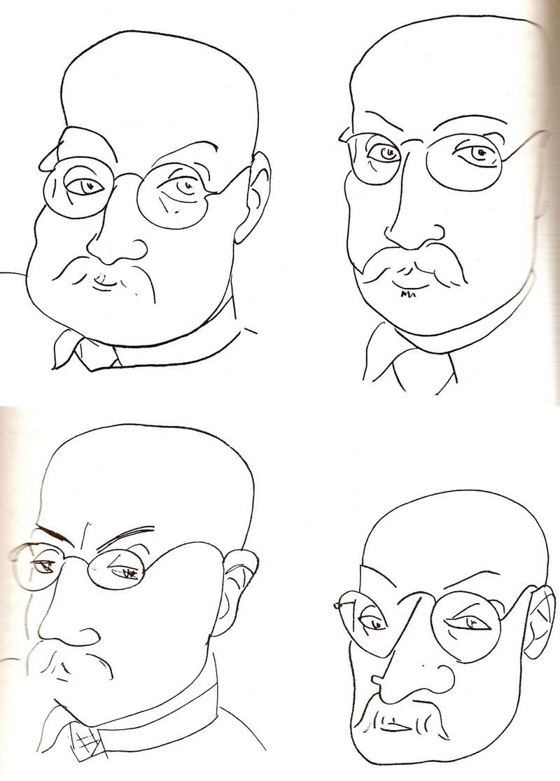 auto-retratos matisse
